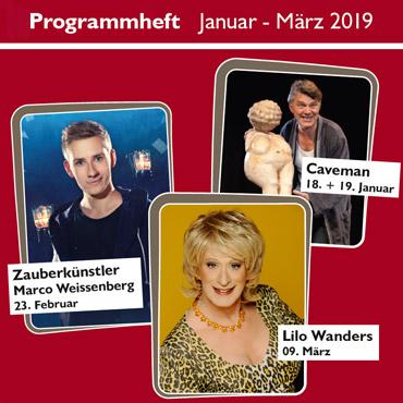 Programmheft Januar - März 2019